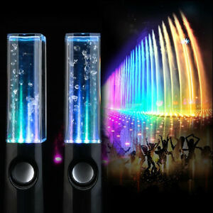 LED DANCING LIQUID SPEAKERS TO THE BEAT