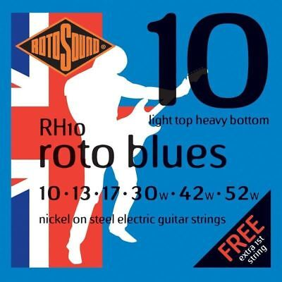 🎸 Rotosound RH10 Roto Blues Electric Guitar Strings | 10-52 | Made in the UK 🎸