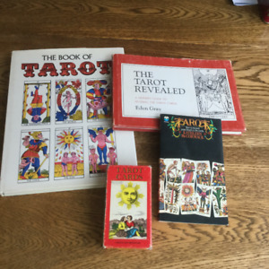 Vintage Tarot Cards and Books