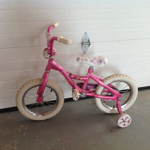 "Barely ever used 12-14"" girls bicycle"