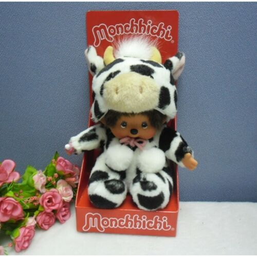 Monchhichi S Size MCC Plush - Year of the Cow 239080 ~~~ RARE ~~~