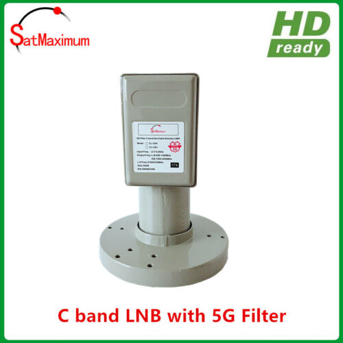 C band LNB with 5G Filter Quad Output For 3.5GHz 5G interference