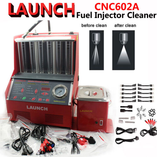 New launch auto cnc602a ultrasonic fuel injector tester for Mercedes benz fuel injector cleaner