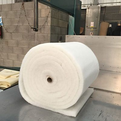 CAMPER VAN INSULATION 12M X 1M X 35MM THICK LIGHT WEIGHT DACRON POLYESTER