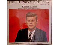 J F Kennedy Memorial Album