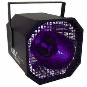 2 Cannon black light UV lampe puissante