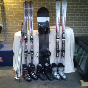 Skis and Snow board