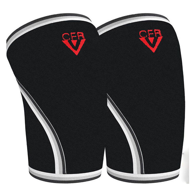 CFR 7MM Knee Sleeves Support Crossfit Power Weight Lifting K