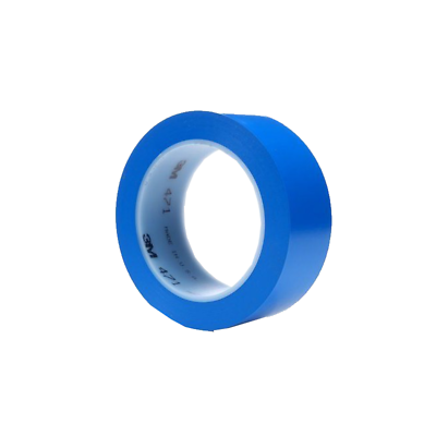 5 ROLLS 3M vinyl tape 471 1//4 in x 36yd  BLUE new from bulk pack Free ship CHEAP