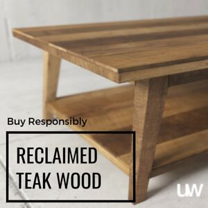 NEW INVENTORY – RECLAIMED WOOD COFFEE TABLES