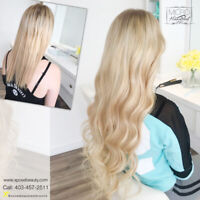 CALGARY HAIR EXTENSIONS PROMO-STARTING AT $399 403-457-2511 APPT