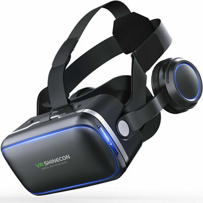 360° VR Headset Goggles 3D Glasses Virtual Reality Headset for Mobile Phone New