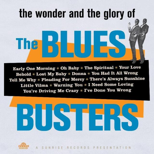 The Blues Busters(Vinyl LP)The Wonder and the Glory of-Sunrise-SUNRLP01-M/M