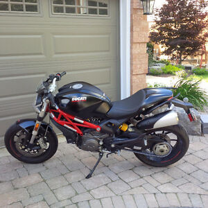 2012 Ducati Monster - Low Mileage, Extras Included, Great Deal !