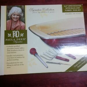 Paula Deen Large Open Roaster SEt NEW IN BOX Kitchener / Waterloo Kitchener Area image 1