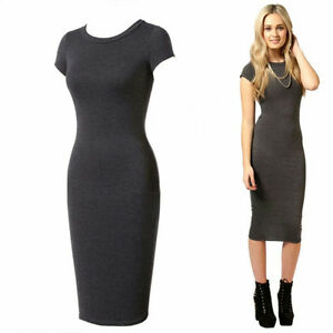 Brand new, grey tee dress Cambridge Kitchener Area image 1