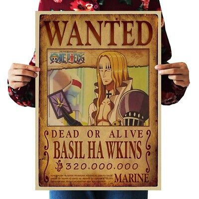 US SELLER- buy wall art BASIL HAWKINS WANTED anime manga cosplay poster - Anime Cosplay Buy