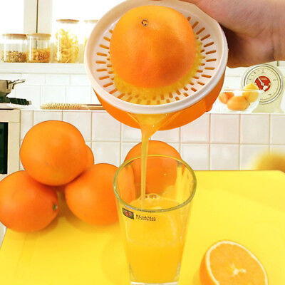MANUAL CITRUS FRUIT JUICER KITCHEN LIME ORANGE LEMON SQUEEZER FRUIT PRESS