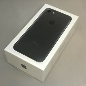 Matteblack IPHONE 7 128gb - UNLOCKED - new - BUY OR TRADE