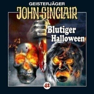 JOHN SINCLAIR: FOLGE 42 - BLUTIGER HALLOWEEN  CD - Blutiger Halloween John Sinclair