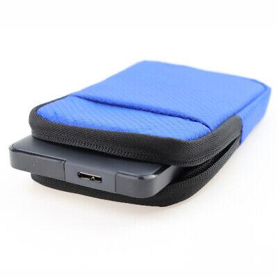 Portable Case Box Bag Holder for 2.5inch HDD SSD WD Seagate Hard Drive Non-Slip (Seagate Externe Festplatte Ssd)