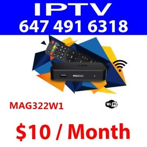 IPTV MAG 322 BOX ANDROID TV FOR SALE BEST DEAL