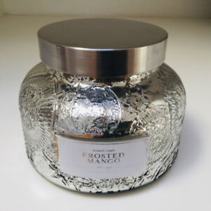Scented Candle in a Silver Jar - Brand New