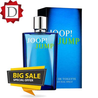 JOOP JUMP FOR MEN~200ML~EAU DE TOILETTE BRAND NEW & SEALED EDT PERFECT GIFT SALE
