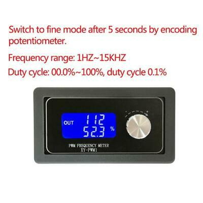XY-PWM1 Signal Generator Module Adjustable PWM Pulse Frequency Duty Cycle Square