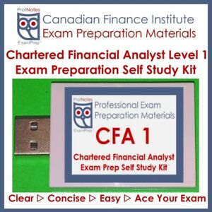 Chartered Financial Analyst CFA L1 2018 [Kaplan Schweser]