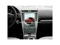 "10.4""Tesla Style Vertical HD Screen Car GPS Navigation For Mazda 6 2005 2006 2007 2008 2009 2010"