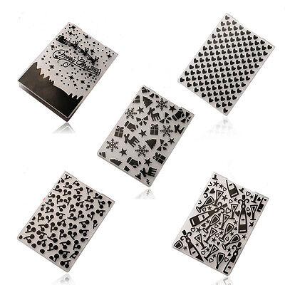 Plastic Embossing Folders DIY Card Making Decoration Supplies Scrapbook