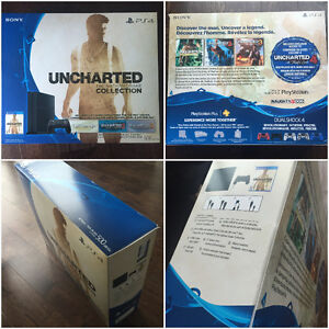 UNOPENED: Playstation 4  500gb  UNCHARTED: Nathan Drake Bundle