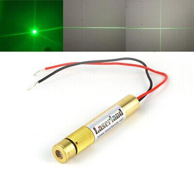 Focusable 532nm Green Dot Line Cross Laser Module 10mw 30mw 50mw 100mw 150-200mw