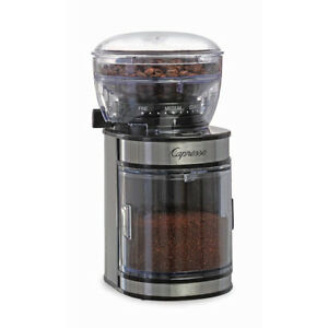 BRAND NEW IN BOX Capresso Ceramic Burr Grinder