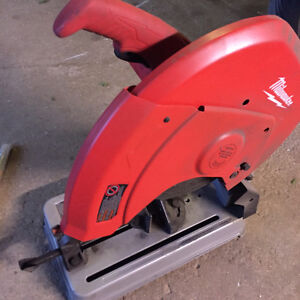 Chop Saw Milwaukee 14""
