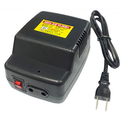 110V-->220V Step-up transformer Voltage Converter Max Power 500VA/500W380w below