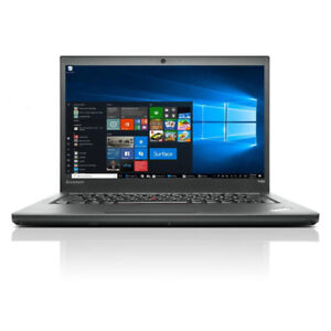 "Lenovo ThinkPad T440s 14"" Core i5 4300U 8GB RAM 250GB SSD"