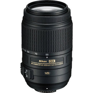 Nikon AF-S DX 55 - 300MM - MINT CONDITION