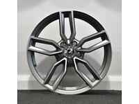 """18"""" S3 Style Alloys & Tyres. Suit Audi A3,Volkswagen Caddy,Golf,Jetta,Passat,Seat Leon 5x112"""
