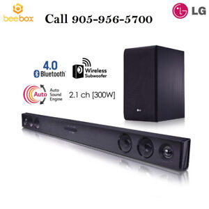 LG SJ3 Sound bar2.1 ch 300w Sound Bar Soundbar w Subwoofer