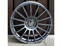 """19"""" TGA LM style Alloy Wheels 5x112 will fit Golf MK5, MK6, MK7, Jetta, Passat, Caddy Etc"""