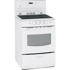 Stove GE 24'' ELECTRIC SMOOTHTOP White Brand New for SALE