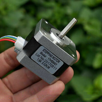Nema17 42mm 2-phase 4-wire Stepper Motor 5mm Shaft F Reprap Cnc Robot 3d Printer