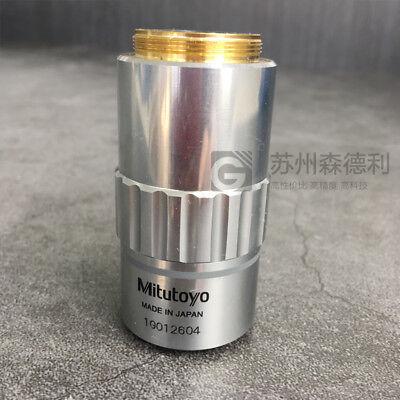 Mitutoyo Objective Lens M Plan Apo 2x0.055 F200 Used