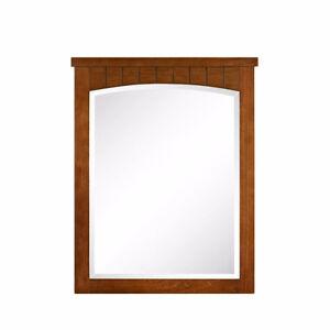 """2 Cherry Bathroom Vanity Mirrors 30"""" H x 24"""" W"""