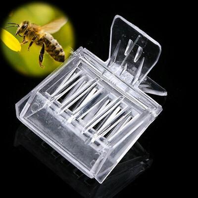 5pcs Plastic Queen Cage Clip Bee Catcher Beekeeper Beekeeping Tool Equipment TW