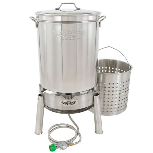 Bayou 60 Qt Stainless Steam and Boil Cooker Kit Model KDS-160