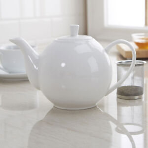 Maxwell & Williams White  Teapot with Infuser