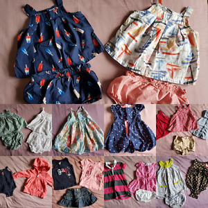 12-18 Month Baby Girl Summer Lot